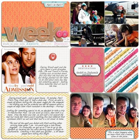 Project Life - WK 14 - Scrapbook.com