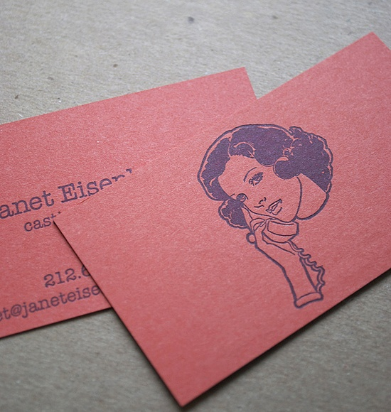 business cards by greenwich letterpress