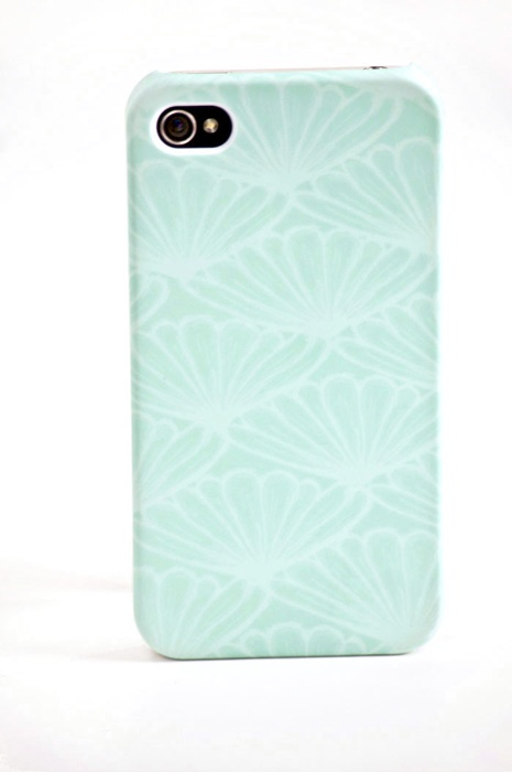 For when i get an iphone...Lady in Mint iPhone Case  by The Velvet Owl Design Studio