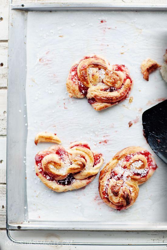 ... strawberry brioches ...