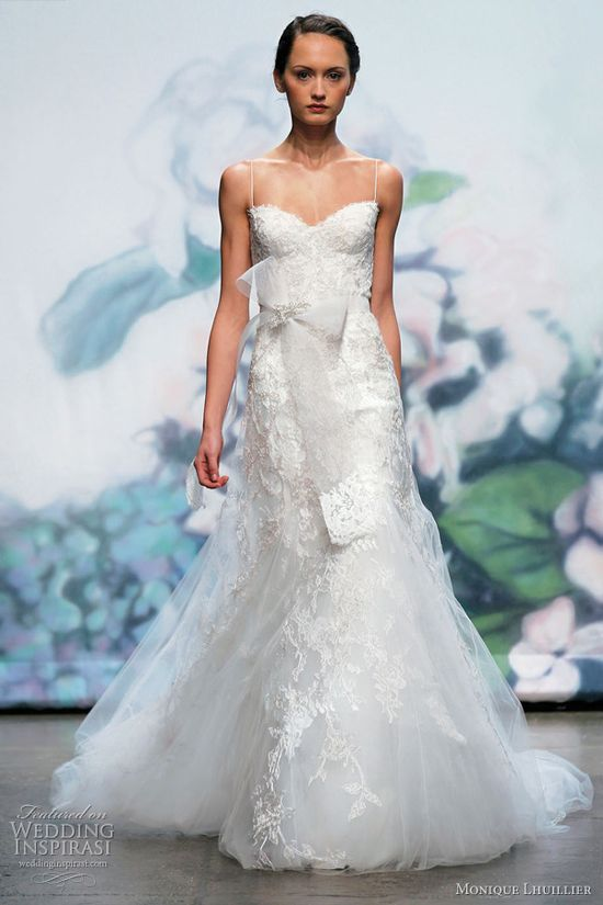 Monique Lhuillier wedding dress Fall 2012