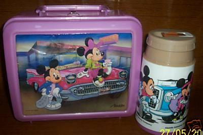 Cartoon lunch boxes