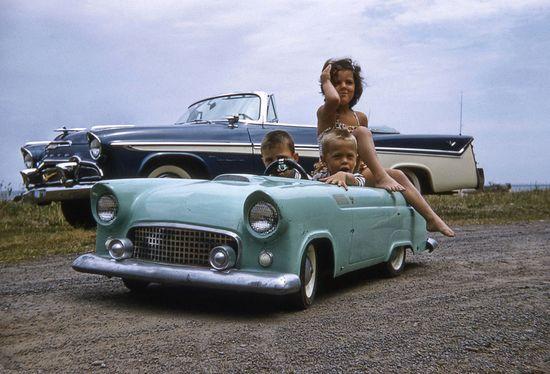 Their first car....