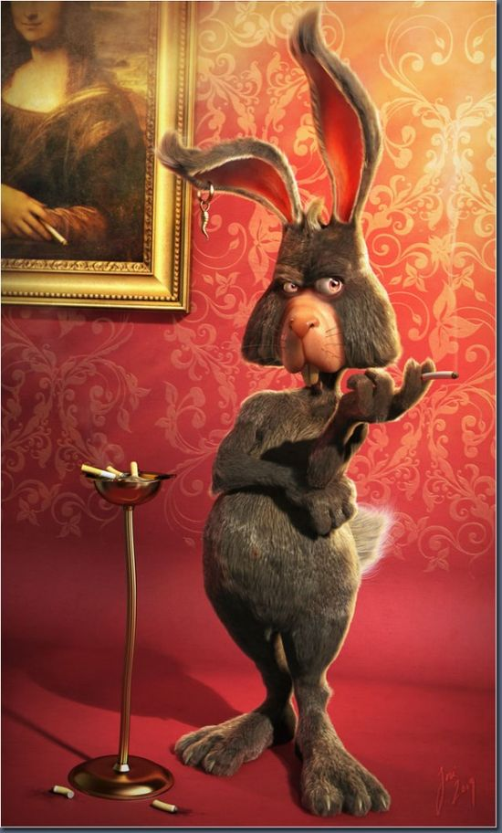 20 Awesome 3D Character Designs and Backgrounds by Jose Alves da Silva. Follow us www.pinterest.com...