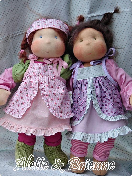 Handmade dolls Adoroooooo essas lindas!