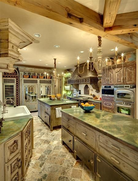 rustic kitchen..?