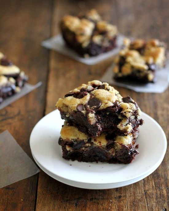 Chocolate Chips Cookie Brownies