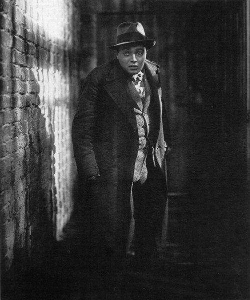 """Peter Lorre in """"M"""" (M: Eine Stadt sucht einen Mörder), directed by Fritz Lang, 1931"""