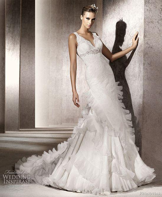 Pronovias Wedding Dresses 2012