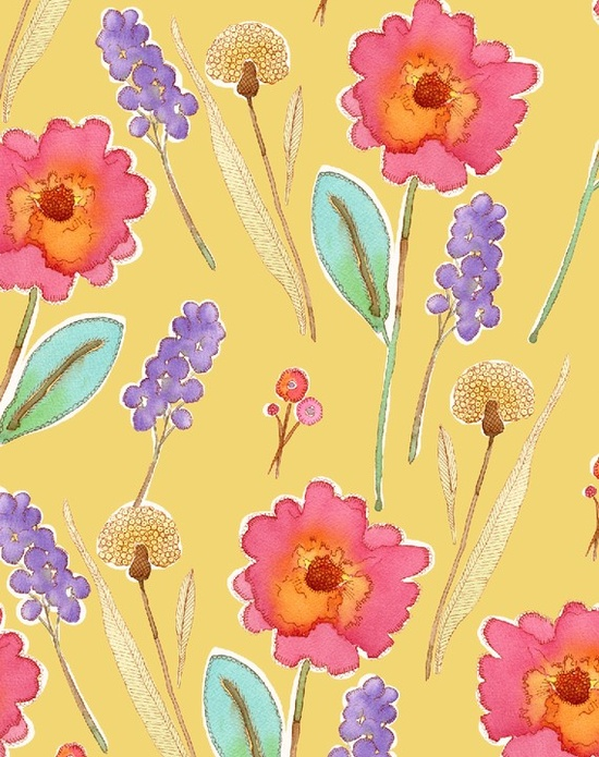 cheerie floral pattern