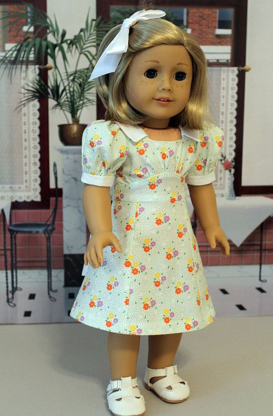 1930's Dress for Kit or Ruthie by BabiesArtUs on Etsy,  aww with Sleuth pattern - I ? it :)
