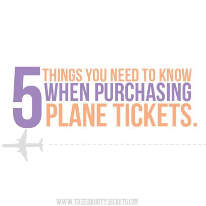 5 Things You Need to Know When Purchasing Plane Tickets!  #Travel #Tips #PlaneTickets #Cancun