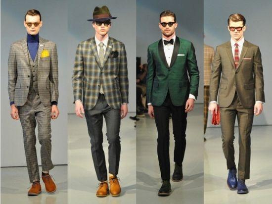 David Hart Men's Fall 2013 Collection