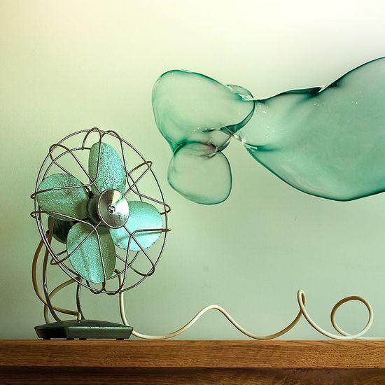 Retro fan and bubble #midcentury #mod #retro