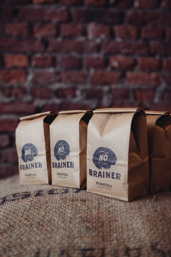 Beanotec coffee package type graphic design