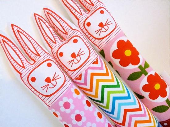 Child's scandinavian softie toy bunny rabbit plush