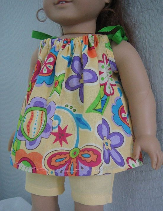 American Girl Doll 18 inch clothes Tropical by LaniesCreations, $14.00