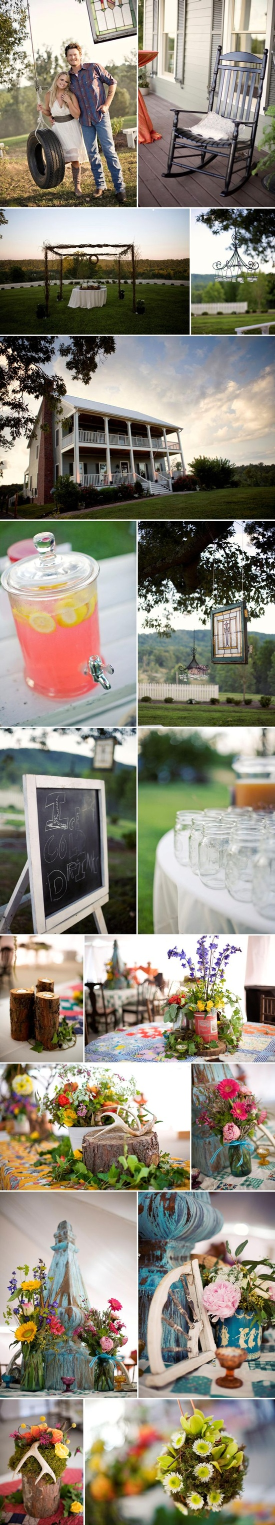 miranda lambert & blake shelton's engagement party!