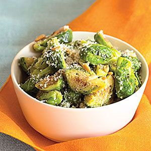 Brussels Sprout with Parmesan and Pine Nuts