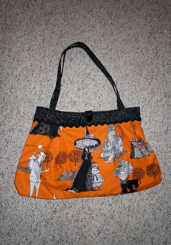 Hand made bag by Tonya Vistaunet