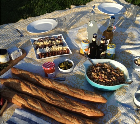 A little picnic in the park - tips for making it fun...and delicious!