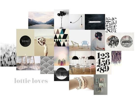 Lottie Loves Moodboard by CharlotteRivers, via Flickr