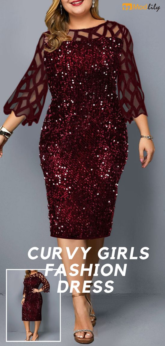 Maybe you don't like me, but I am very satisfied with myself. #dress #plussize #curvy