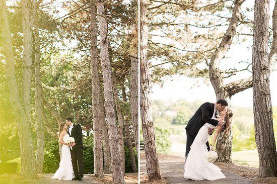Lindsey + Michael's romantic wedding