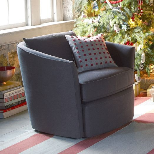 NEW! Duffield Swivel Chair from west elm