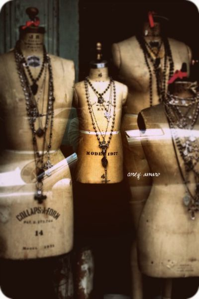 Funky vintage jewelry chains. willows95988.type...