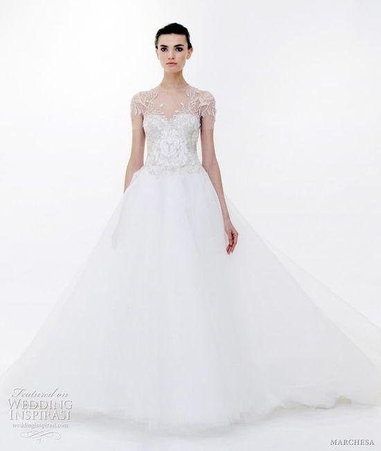 marchesa bridal spring 2012 - wedding dress