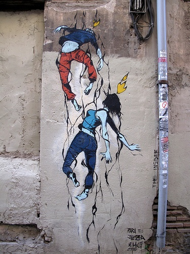 Deih street art, Valencia, Spain. Our tips for things to do in Valencia: www.europealacart...