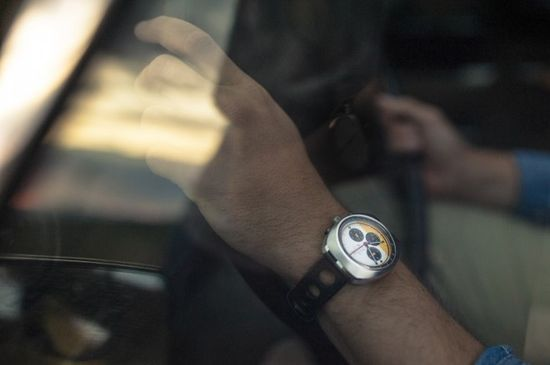 60's inspired watch by Autodromo