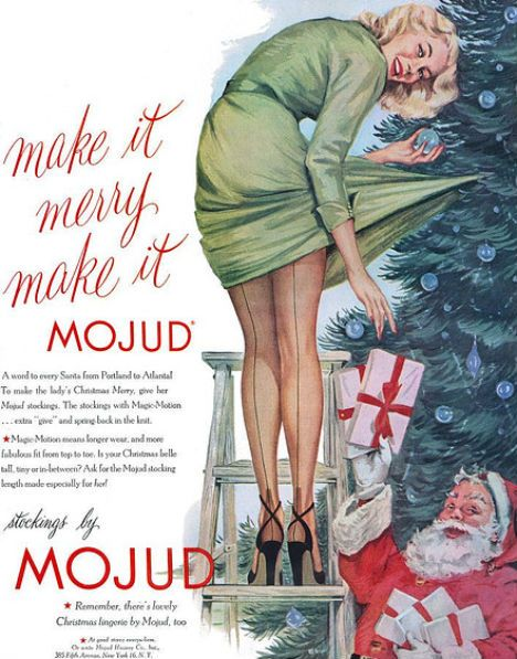 Funny & Ridiculous Vintage Christmas Advertisements