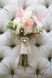 rustic romantic wedding bouquet