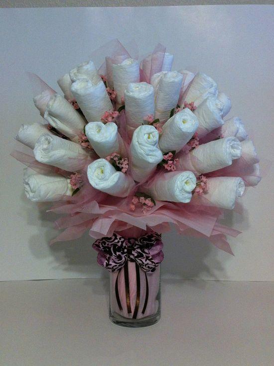 Diaper bouquet