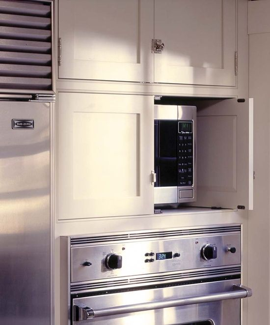 Kitchen Cabinet Ideas For Microwave: Home Design Collections: Greige: Interior Design Ideas And