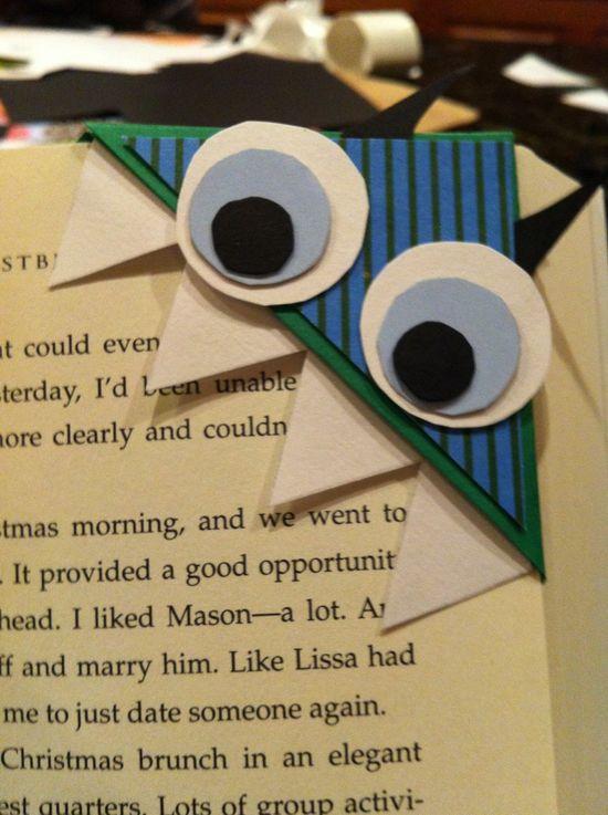 fun bookmark