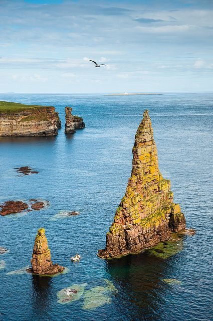 Duncansby Stacks, Scotland