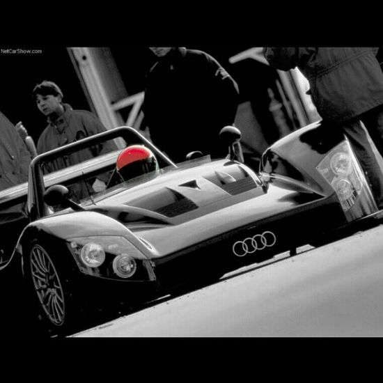 Audi R8R Le Mans Prototype - click on pic to join the 'new' car communtiy