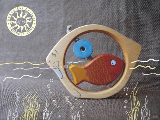 I love wooden baby toys!