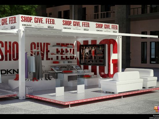 shipping container pop up store