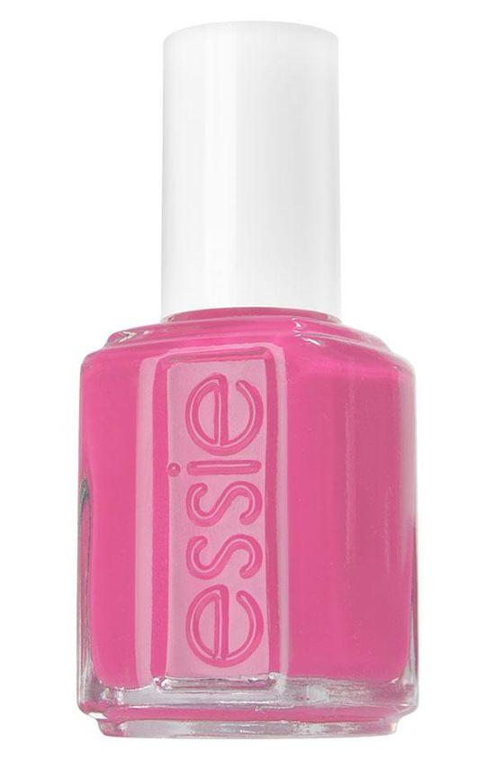 ? essie pink polish.