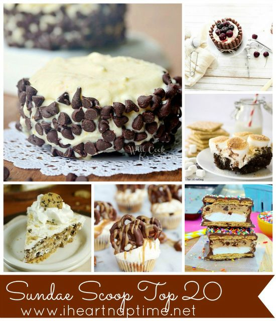 Top 20 desserts from this week! So many yummy recipes!