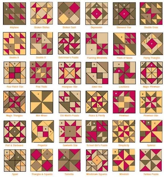 HST quilt block possibilities - Picmia