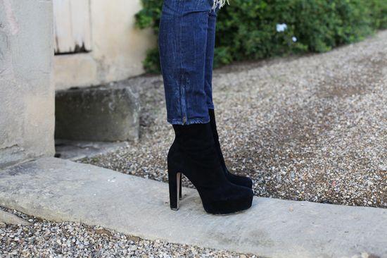 #fashion #shoes stivaletti neri tacco alto