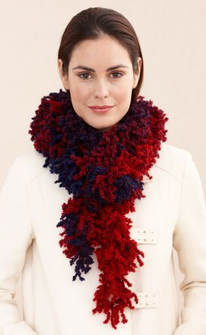 "Free pattern for ""One Row Crochet Scarf""!"