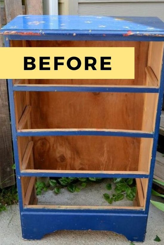 Get inspired with these furniture makeovers, before and after upcycled dressers for your bedroom, living room, kitchen or entryway. These vintage dresser makeover ideas will give you inspiration and make you want to run to your local thrift store or flea market to pick up old dressers. Dresser Makeovers DIY  Board