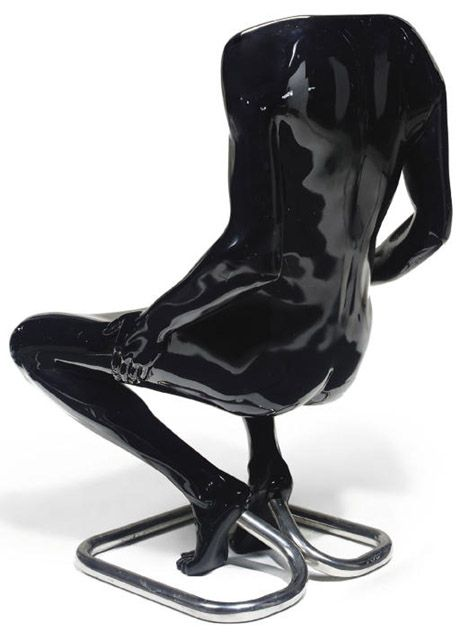 Homme Chair by Ruth Francken at Christie's #art #design #chair