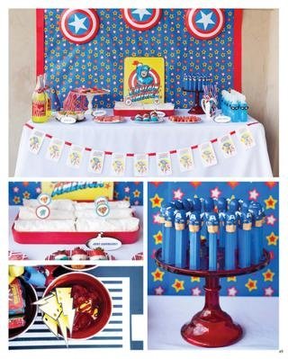 captain america party post for ideas